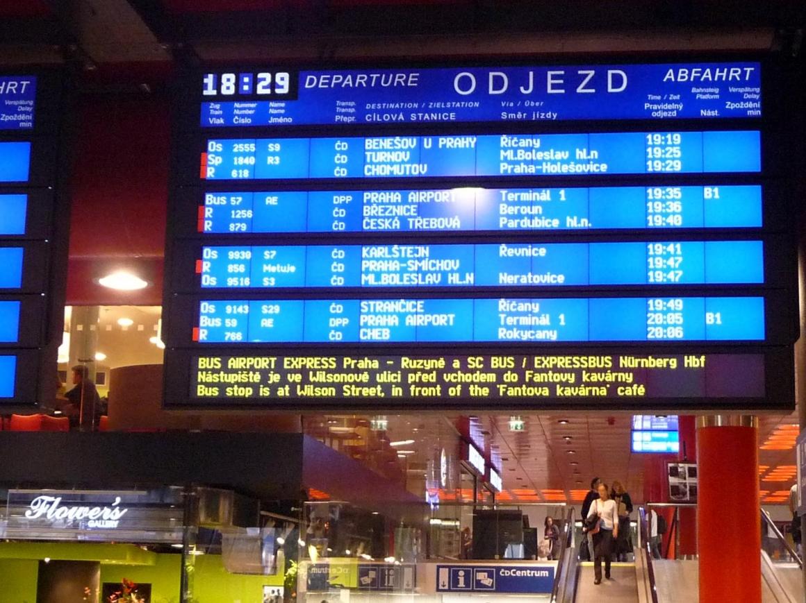 žst. Praha hlavní nádraží