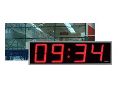 Exteriérové hodiny digitální