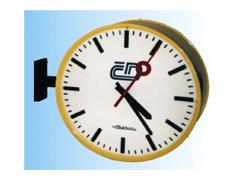 Kruhové venkovní hodiny typ KV