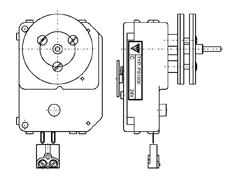 Podružné strojky řady PS1000